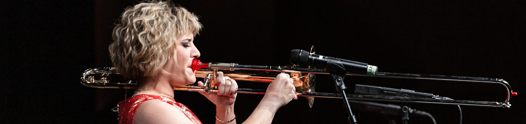 Aubrey Logan Trombone Interview – Trombone Corner #6
